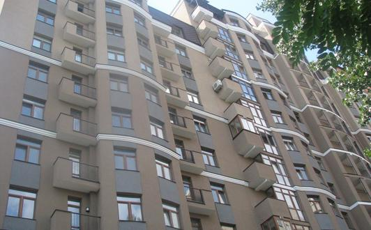 Apartment Block in of Kyiv